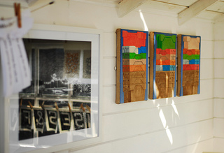 New prints at Dungeness beach Studio 1