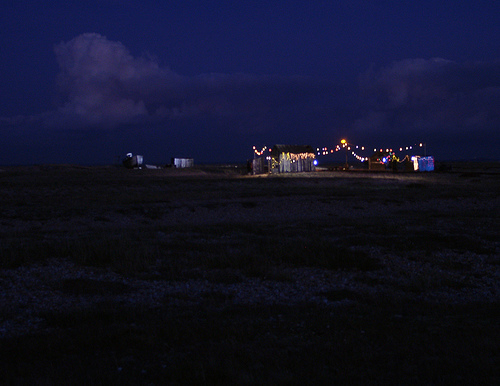 Showbiz, Dungeness, night image, limited edition, Ctype print, Fugicolour professional paper