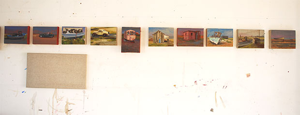 Small paintings dungeness atmospheres