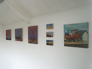 gallery of small beach paintings